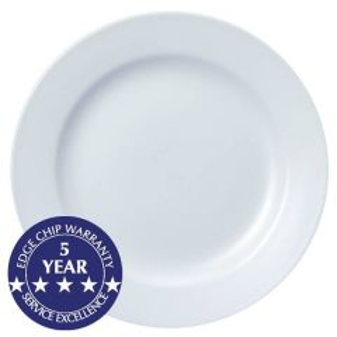 "Churchill White Classic Plate 12.25"" / 31.2cm"