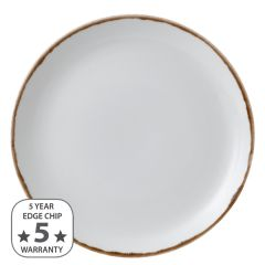 """Dudson Harvest Natural Coupe Plate 11.25"""" / 28.8cm"""