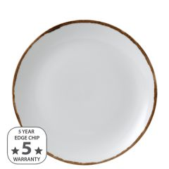 """Dudson Harvest Natural Coupe Plate 10.25"""" / 26cm"""
