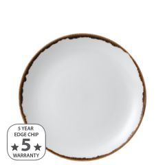 """Dudson Harvest Natural Coupe Plate 8.66"""" / 21.7cm"""