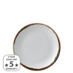 """Dudson Harvest Natural Coupe Plate 6.5"""" / 16.5cm"""