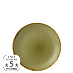 "Dudson Harvest Green Coupe Plate 6.5"" / 16.5cm"