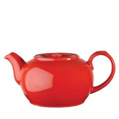 Churchill Red Nova Teapot 28oz / 79.5cl