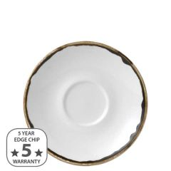 """Dudson Harvest Natural Cappuccino Saucer 6.25"""" / 15.6cm"""