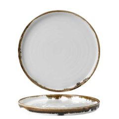 """Dudson Harvest Natural Walled Plate 8.25"""" / 21cm"""