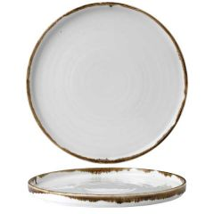"""Dudson Harvest Natural Walled Plate 10.25"""" / 26cm"""