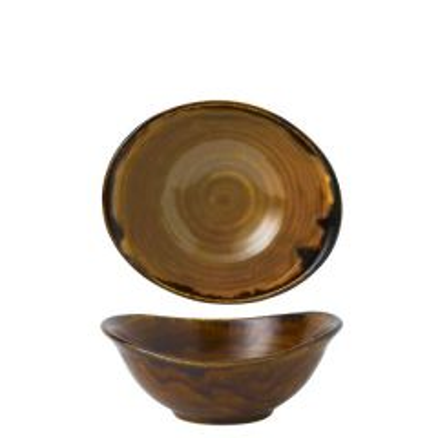 "Dudson Harvest Brown Deep Bowl 6.875x5.75"" / 17.4x14.7cm"