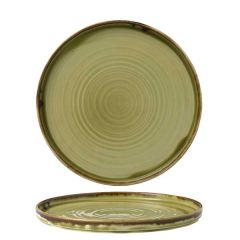 "Dudson Harvest Green Walled Plate 8.25"" / 21cm"