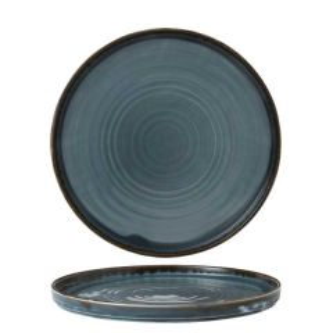 "Dudson Harvest Blue Walled Plate 8.25"" / 21cm"