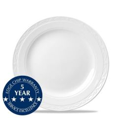 "Churchill Chateau White Plate 10"" / 25.4cm"