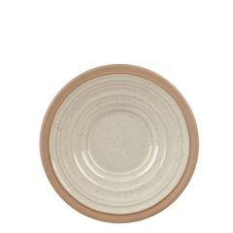 "Art De Cuisine Igneous Natural Tea Saucer 6.5"" / 16.5cm"