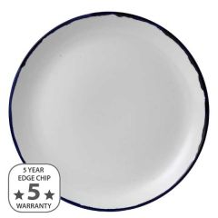 """Dudson Harvest Ink Coupe Plate 11.25"""" / 28.8cm"""