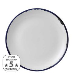 """Dudson Harvest Ink Coupe Plate 10.25"""" / 26cm"""