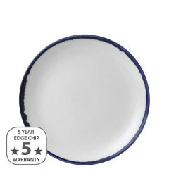 """Dudson Harvest Ink Coupe Plate 8.66"""" / 21.7cm"""