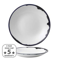 """Dudson Harvest Ink Deep Coupe Plate 10"""" / 25.5cm"""