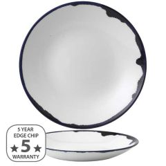 """Dudson Harvest Ink Deep Coupe Plate 11"""" / 28.1cm"""