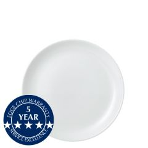 "Churchill Vellum White Coupe Plate 6.5"" / 16.5cm"