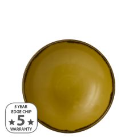 "Dudson Harvest Mustard Coupe Bowl 7.25"" / 18.2cm"