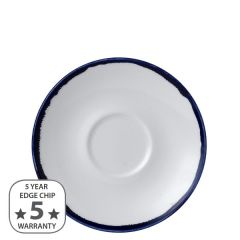 """Dudson Harvest Ink Cappuccino Saucer 6.25"""" / 15.6cm"""