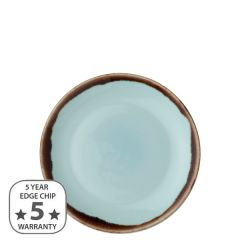 """Dudson Harvest Turquoise Coupe Plate 6.5"""" / 16.5cm"""