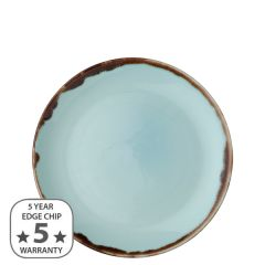 """Dudson Harvest Turquoise Coupe Plate 8.66"""" / 21.7cm"""