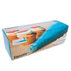 "Frost It High Grip Disposable Blue Piping Bag 21"" / 53cm"