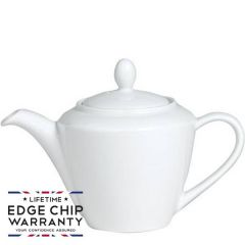 Steelite Simplicity White Harmony Teapot 30oz / 85.25cl