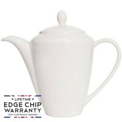 Steelite Simplicity White Harmony Coffee Pot 30oz / 85.25cl