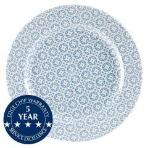 "Churchill Moresque Blue Plate 12"" / 30.5cm"