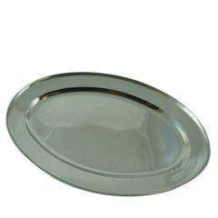 """Stainless Steel Meat Flat 20"""" / 51cm"""