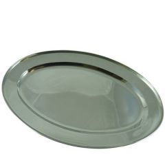 """Stainless Steel Meat Flat 24"""" / 61cm"""