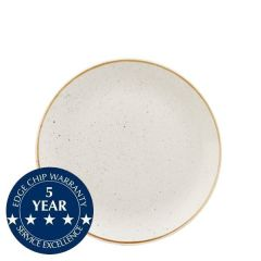 """Churchill Stonecast Barley White Coupe Plate 6.5"""" / 16.5cm"""