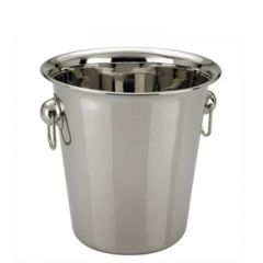"Economy Stainless Steel Wine Bucket 7.25"" / 18cm Diameter"