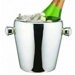 "Elia Curved Wine Bucket Stainless Steel 6.5"" / 16cm Diameter"