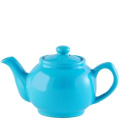 Price & Kensington Gloss Bright Blue Teapot 2 Cup 16oz / 45cl