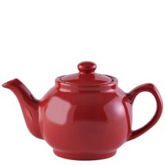 Price & Kensington Gloss Bright Red Teapot 2 Cup 16oz / 45cl