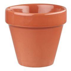 Churchill Bit On The Side Paprika Plant Pot 17oz / 48.3cl