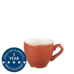 Churchill Stonecast Spiced Orange Espresso Cup 3.5oz / 10cl