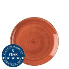 "Churchill Stonecast Spiced Orange Coupe Plate 6.5"" / 16.5cm"