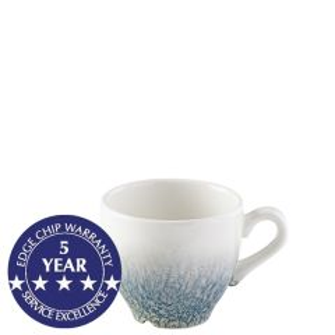 Churchill Studio Prints Raku Topaz Blue Espresso Cup 3.5oz / 10cl