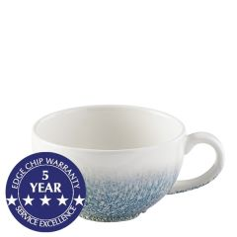 Churchill Studio Prints Raku Topaz Blue Cappuccino Cup 8oz / 23cl