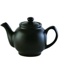 Price & Kensington Matt Glaze Black Teapot 6 Cup 39oz / 1.1ltr