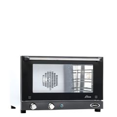 Unox Linemicro Electric Manual 3 Tray Convection Oven 600x587x402mm 2.7kw
