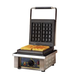 Rollergrill Single Square Waffle Iron 3 x 5 Squares 305 x 440 x 230mm
