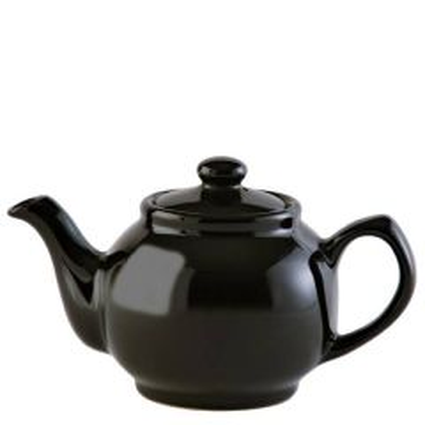 Price & Kensington Gloss Classic Black Teapot 2 Cup 16oz / 45cl