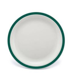 """Harfield Duo Racing Green Patterned Polycarbonate Plate 9"""" / 23cm"""