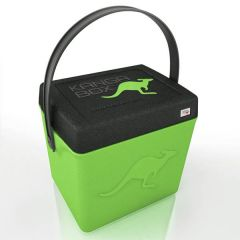 KANGABOX Lime Green Trip Top Loader Box with Handle 300x220mm 20Ltr