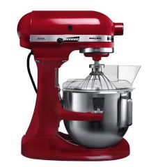 Kitchen Aid K5 Red Food Mixer (4.8Ltr Bowl)