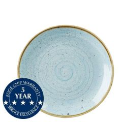 """Churchill Stonecast Duck Egg Blue Coupe Plate 8.66"""" / 21.7cm"""