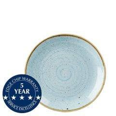"""Churchill Stonecast Duck Egg Blue Coupe Plate 6.5"""" / 16.5cm"""